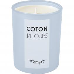 BOUGIE GM COTON VELOURS