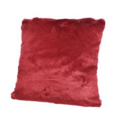 COUSSIN 45X45 ROUGE