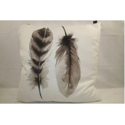 COUSSIN PLUME 50X50