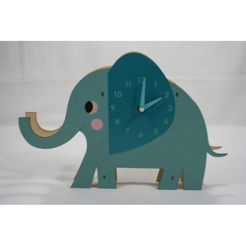 1HORLOGE ELVIE THE ELEPHANT