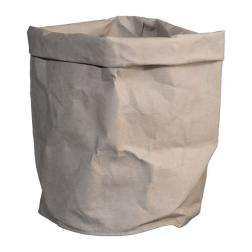 SAC EN PAPIER RECYCLE KRAFT NATUREL GRIS