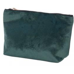 TROUSSE MAQUILLAGE VELOUR VERTE